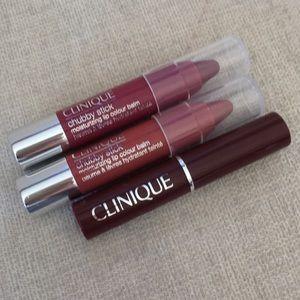 Clinique Makeup - Clinique 2 piece Tinted Lip Balms